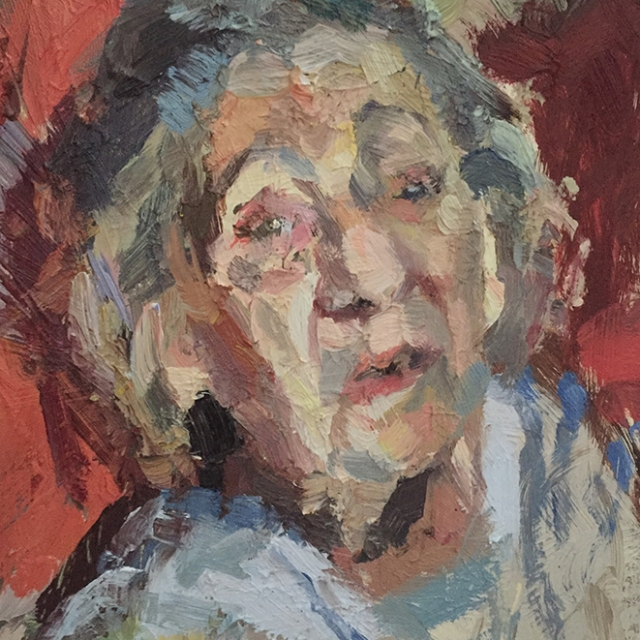 'Old lady' by Tim Benson