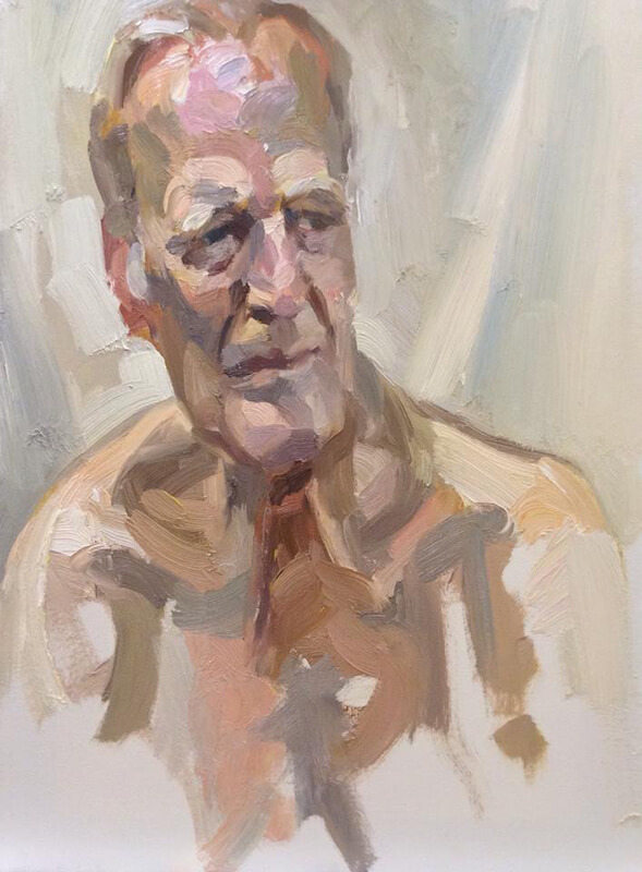 "'Ian', oil on canvas, 24""x18"""